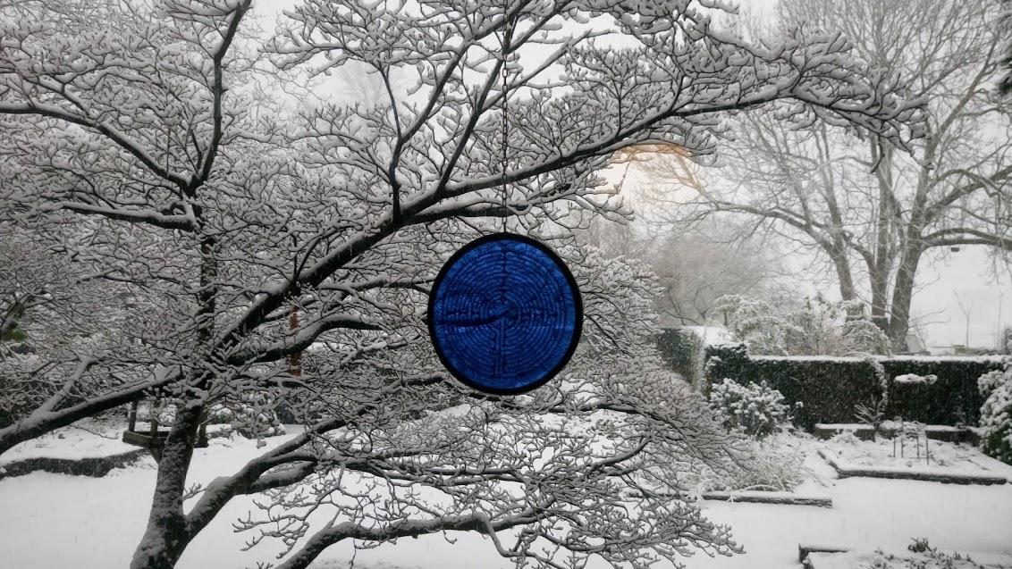 Wintercursus | Een vrouw in de tuin