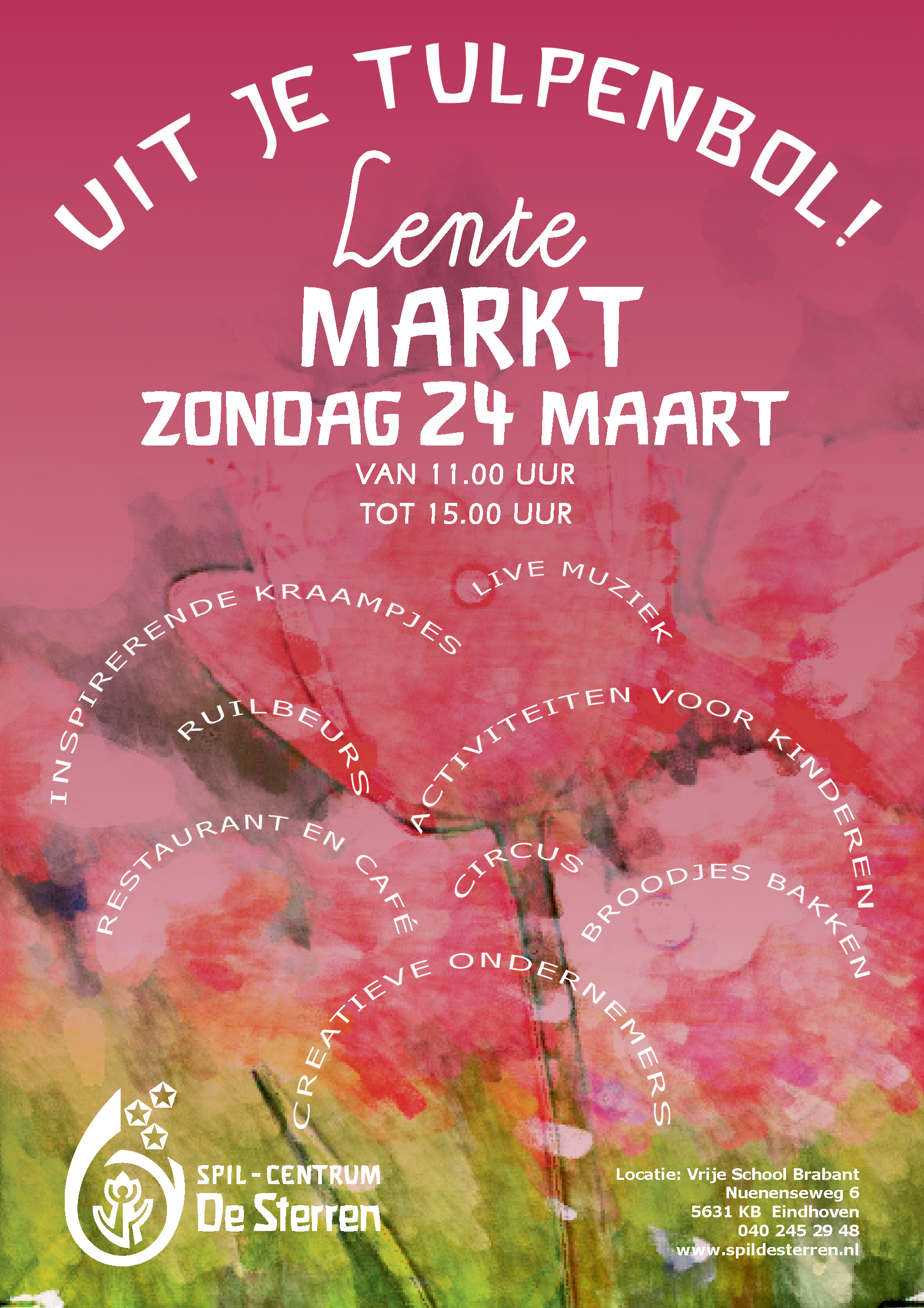 Lentemarkt | Vrije School Brabant | Nuenenseweg
